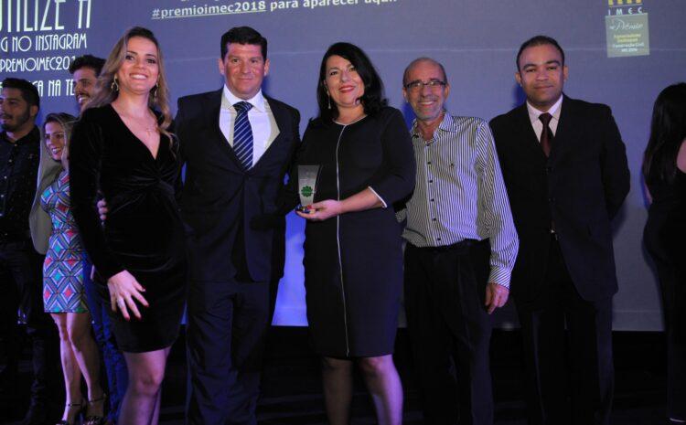 NetService é homenageada no Prêmio IMEC