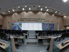 NetService concludes videowall project at the COP-BH